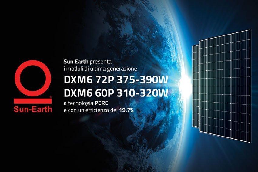 DXM6 – 60P e DXM6 -72P: i nuovi pannelli fotovoltaici ad alto rendimento Sun Earth. 3 buone ragioni per sceglierli