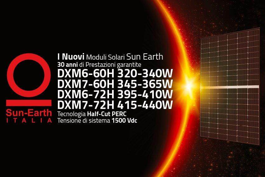 Sun Earth presenta i nuovi moduli fotovoltaici con tecnologia Half Cut